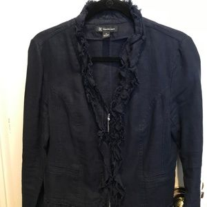 INC Linen Ruffle Jackets